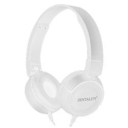 HeadSet Zentality E-007 White