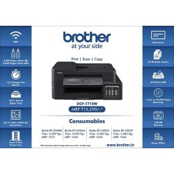 Printer Brother-Dcp/T710W