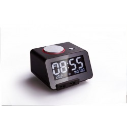 Homtime C1pro Bluetooth Alarm Clock Speaker with Dual USB Charger