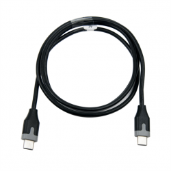 MUVIT Cable TYPE C TO C 3A, 1M, BLACK