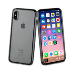 Muvit Black Crystal Bump For Apple Iphone X