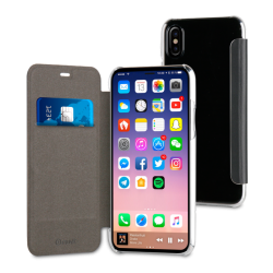 Muvit Folio Case Black For Apple Iphone X