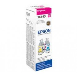 Ink Epson T6643 Magenta For L100-200-300