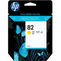 Ink HP 82 Yellow 28ML CH568A