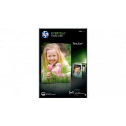 HP Everyday Glossy Photo Paper-100 sht-10 x 15cm CR757A