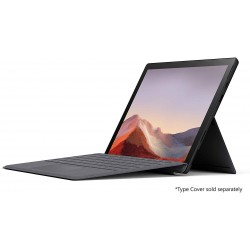 "Microsoft Surface Pro7 VAT-00020 Core i7 RAM 16GB  HDD 512GB SSD 12.3"" Convertible Laptop Win 10 Home Black"