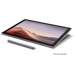 "Microsoft Surface Pro7 PUV-00006 Core i5 RAM 8GB HDD 256GB SSD 12.3"" Convertible Laptop Win 10 Home Platinum"